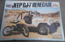 Jeep cj 7 renegade with suzuki dirt bike model car kits 427f696d 9dd8 4ea9 9172 14437a426ac3 medium