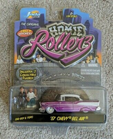 1957 chevrolet belair %2528purple %252b silver lines%2529 model cars 1a176be5 b0f2 4aa3 8a36 e83148a742df medium