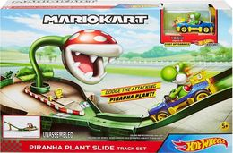 Piranha plant slide track model vehicle sets 2057cd57 b994 4b34 a916 df0a056a999e medium
