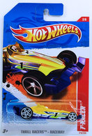 F-Racer | Model Racing Cars | HW 2011 - Collector # 218/244 - Thrill Racers / Raceway 2/6 - F-Racer - Yellow - International Long Card