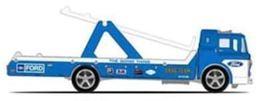 Ford C800 | Model Trucks | 2019 Hot Wheels Car Culture Team Transport Ford C800 Blue