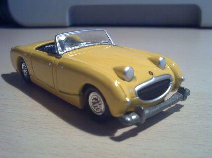 Austin Healey Sprite Frog Eye 1958 Model Cars Hobbydb