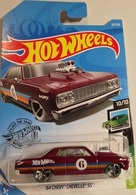 '64 Chevy Chevelle SS | Model Cars | 2019 Hot Wheels / Speed Blur (10/10) '64 Chevy Chevelle SS / International Long Card