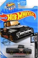 Custom '56 Ford Truck | Model Trucks | 2019 Hot Wheels Wal-Mart Month Rod Squad Custom '56 Ford Truck