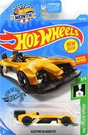 Electro Silhouette | Model Cars | 2019 Hot Wheels Wal-Mart Month HW Green Speed Electro Silhouette
