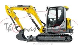 Wacker neuson et65 track excavator model construction equipment 48d8795e 1e6c 4a2e 979f 2c27a9bcc71d medium