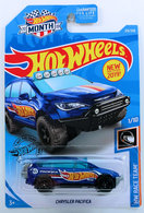 Chrysler Pacifica | Model Cars | HW 2019 - Collector # 215/250 - HW Race Team 1/10 - Chrysler Pacifica - Blue - USA 'Month' Card