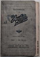 Handbook of the austin seven manuals and instructions 9b34c287 d9a3 43d8 a838 0d0f47f03d4d medium