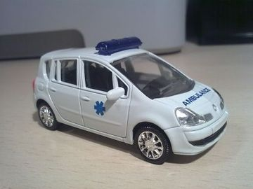 renault modus phase ii grand modus ambulance model cars hobbydb. Black Bedroom Furniture Sets. Home Design Ideas