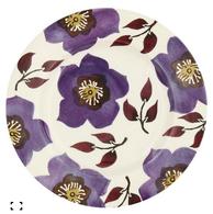 Purple hellebore 8 1%252f2%25e2%2580%259d plate    emma bridgewater for liberty ceramics 3319db48 0494 4da6 b7f3 d7200fe91d6b medium