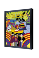 The beatles yellow submarine 3d framed poster posters and prints b7c5aad9 6d85 4a55 8b30 bf12c2390255 medium