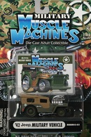 '42 Military Jeep | Model Cars