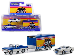 1972 ford f 100 with 1976 ford mustang ii cobra ii in enclosed car hauler model cars d2e31138 392e 44fd 9b86 398d68e19414 medium
