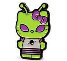 Green alien hello kitty pins and badges b602c52a fc88 47d6 ac2e 89dd406a251e medium