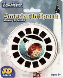 America in Space: Mercury and Gemini | View-Master Reels | America in Space: Mercury and Gemini in box