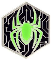 Miles morales spider symbol %2528glow in the dark%2529 pins and badges cc5bbb9f 21a5 4076 adef 9db5aa4c93a0 medium