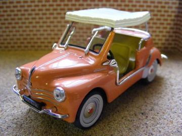 Renault 1961 4cv Type R Ghia Jolly Model Cars Hobbydb