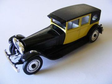 1927 Bugatti Type 41 Royale Double Berline de Voyage | Model Cars
