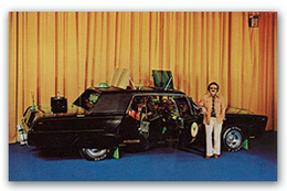Green Hornet's Black Beauty | Postcards