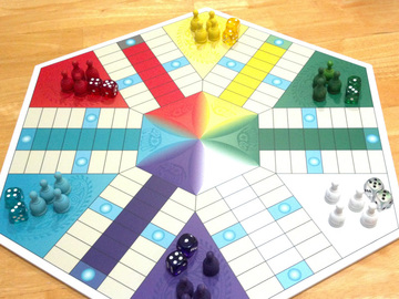 6 Person Parcheesi Board | Board Games
