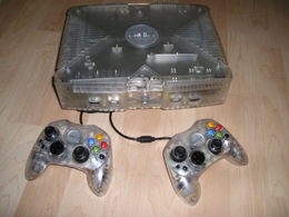 Xbox : Crystal Version | Video Game Consoles