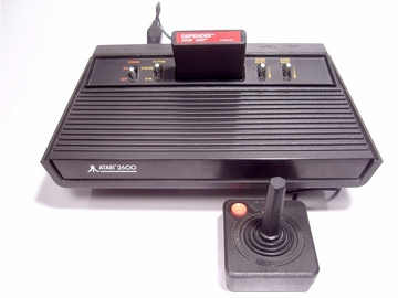 """Video Computer System 2600 - VCS 2600   Video Game Consoles   Model called """"Dark Vador"""""""
