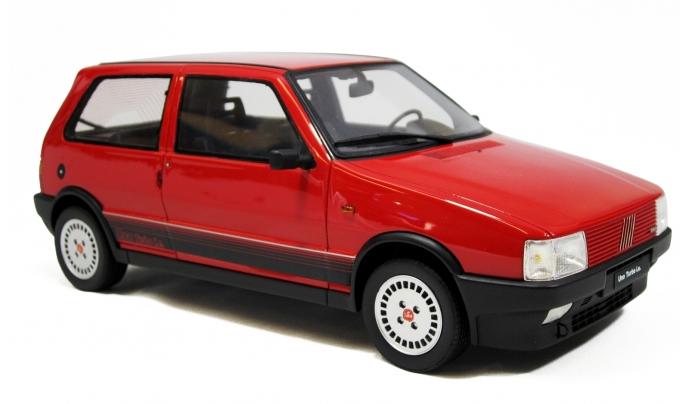 Laudoracing Models Fiat Uno Turbo I E Model Cars F Be B Ac C B E on Red Fiat Uno Turbo