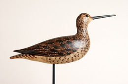 Long-Billed Dowitcher in Fall Plumage Shorebird Decoy | Decoys