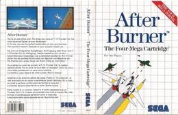 After Burner | Video Games | SMS Version PAL