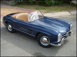 Mercedes 20300sl 20pedal 20car medium