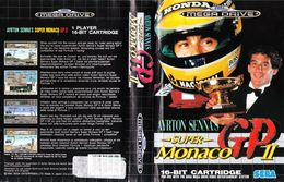 Ayrton Senna's Super Monaco GP II | Video Games | Version Pal