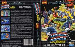 Captain America And The Avengers | Video Games | Version Pal