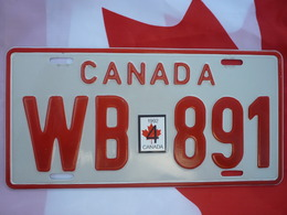 Canadian Military License Plate | License Plates | Canadian military license plate