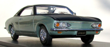 1966 Fitch Sprint - John Fitch enhanced Chevrolet Corvair Corsa Coupe  | Model Cars