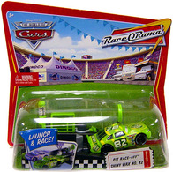 Mattel disney %252f pixar cars%252c %2522pit race off%2522 car and launcher sets pit race off shiny wax model racing cars e0384461 a4ce 4bc2 b214 20d52720470e medium
