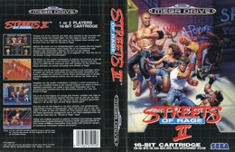 Streets Of Rage II | Video Games | Version Pal