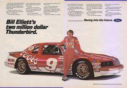 Bill Elliott's Two Million Dollar Thunderbird. | Print Ads