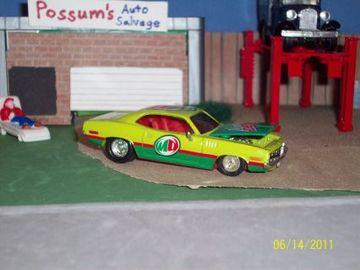 Plymouth 71 'Cuda | Model Racing Cars | hobbyDB
