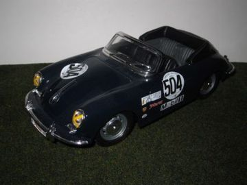 Porsche 356B Cabriolet | Model Racing Cars
