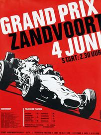 Grand Prix - Zandvoort - 4 Juni - Start: 2:30 | Posters & Prints