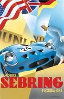 12 Hours Sebring, Florida 1963 | Posters & Prints