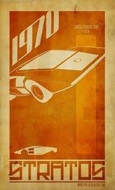 1970 Lancia Stratos Zero | Posters & Prints