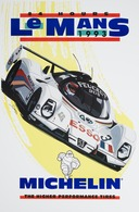24 Hour LeMans Michelin Racing Poster | Posters & Prints
