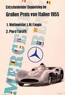 Entscheidender Doppelsieg im GroBen Preis von Italien 1955 | Posters & Prints