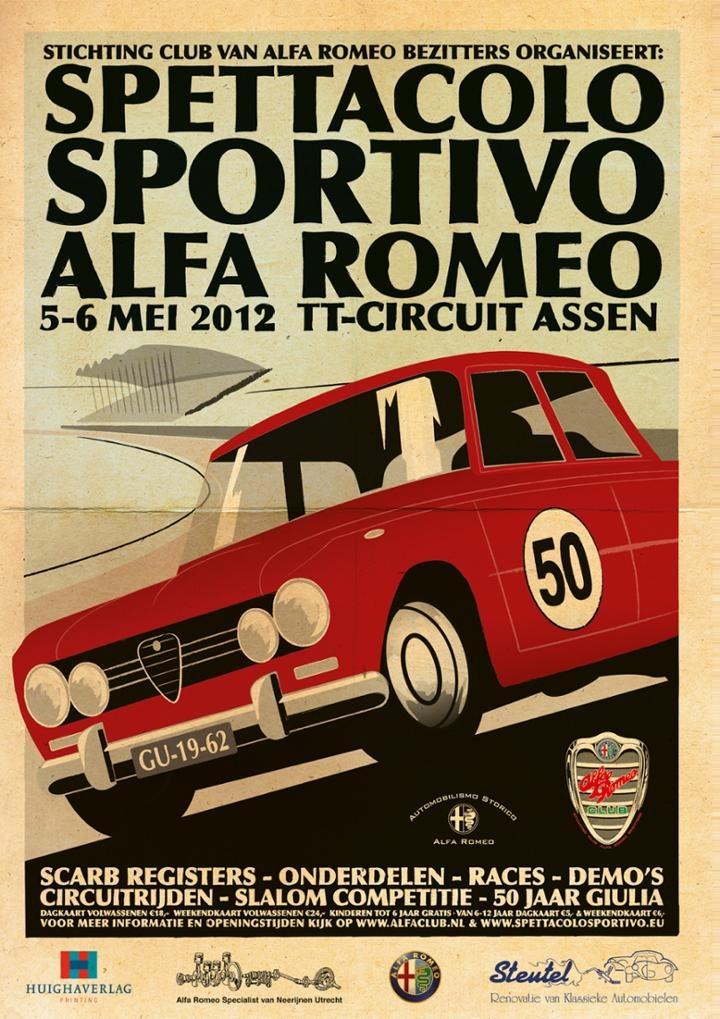 Spettacolo Sportivo Alfa Romeo Posters And Prints HobbyDB - Alfa romeo poster