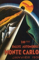 10th eme Rallye Automobile Monte Carlo | Posters and Prints