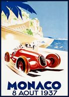 Monaco 8 Aout 1937 | Posters and Prints