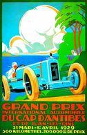 Grand Prix International Automobile: Du Cap D'Antibes | Posters and Prints