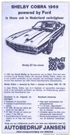 Shelby cobra 1969 powered by ford is thans ook in nederland verkrijgbaar print ads eaec6470 c6b6 44fc b5f0 28e3953368ad medium