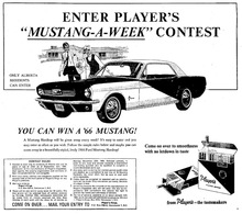Enter player%2527s %2522mustang a week%2522 contest print ads c8727a83 f0a2 4d47 925e 52f2fd88de74 medium